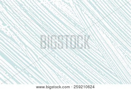 Grunge Texture. Distress Blue Rough Trace. Bewitching Background. Noise Dirty Grunge Texture. Overwh