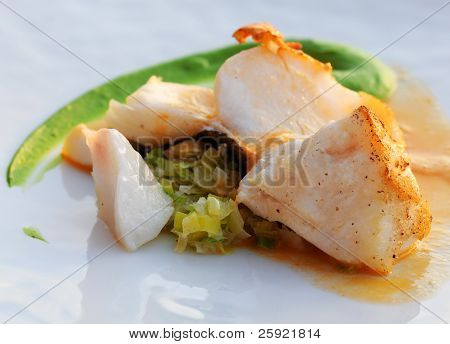 Fried codfish