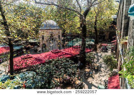 Historical Koza Han In Bursa