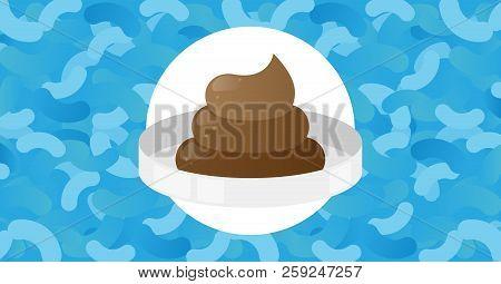 Fecal Microbiota Transplant (fmt) Or Stool Transplant Procedure Concept Vector Illustration Poster W