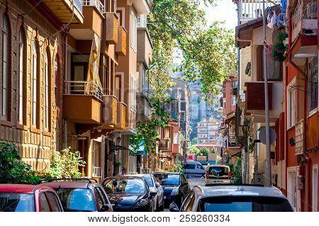 Greek Historical Buildings Mudanya Bursa In Turkey