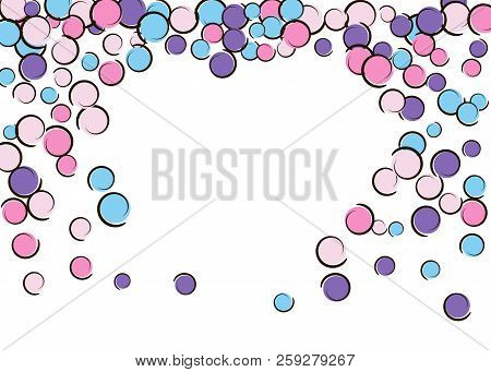 Heart Dots Frame Pop Vector & Photo (Free Trial) | Bigstock