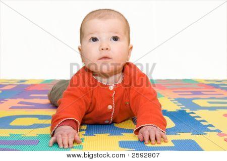 Beautiful Baby Playing