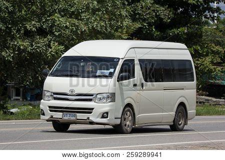 Private Toyota Commuter Van.