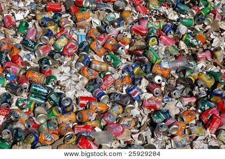 Rubbish heaps in Luxor, Egypt