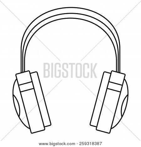 Wireless Headphones Icon. Outline Illustration Of Wireless Headphones Icon For Web Design Isolated O