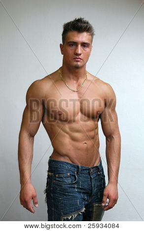 Muscular Male Model poster