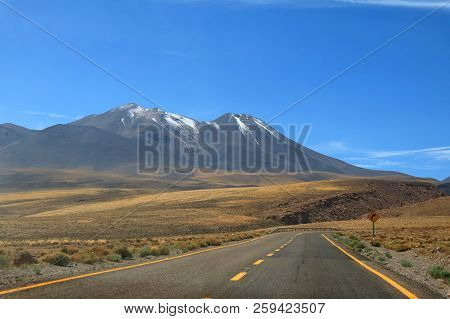Road Trip to the High Altitude Desert of Atacama Desert in northern Chile, South America poster