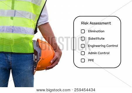 Hazard Identification And Risk Assessment Concept.