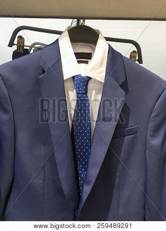 Shop of men's shirts ,suits.ties  Business clothes,