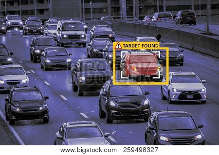 Machine Learning and AI to Identify Objects, Image recognition,  Suspect Tracking, Speed Limit Radar poster
