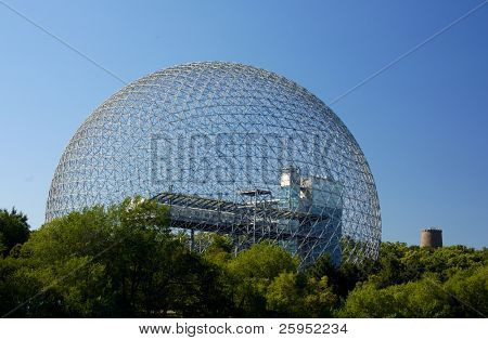 A Geodesic Dome Building