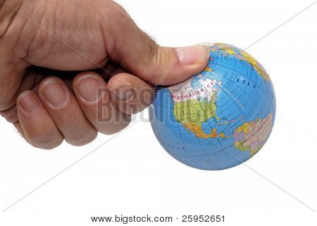 The Globe Under A Mans Thumb, Concept of Under Pressure