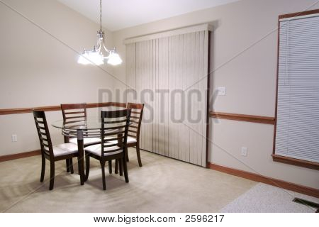 Undecorated Dining Room