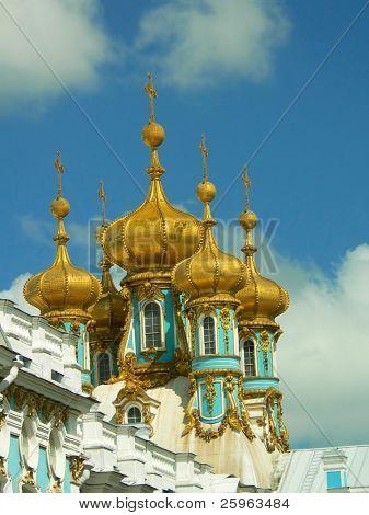 Tsarskoye Selo, formally Pushkin Imperial estate, in St Petersburg Russia