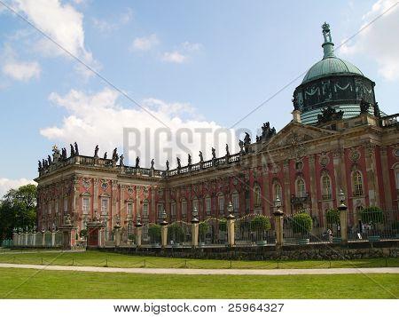 Sans Souci palace in Potsdam, Berlin, Germany, Europe