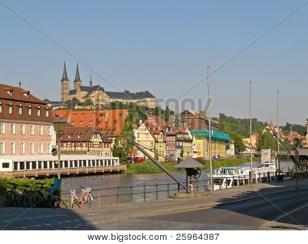 View of Bamberg, Germany, Europe