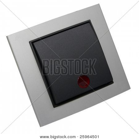 Switch with symbols in red dot