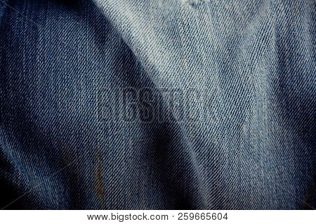 Old Dark Blue Jeans Texture Denim Jeans Texture Denim Jeans Background