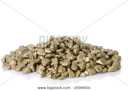 Stack Of Gold Nuggets