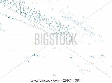 Vector Economy Graphs On White Background. Eps10.
