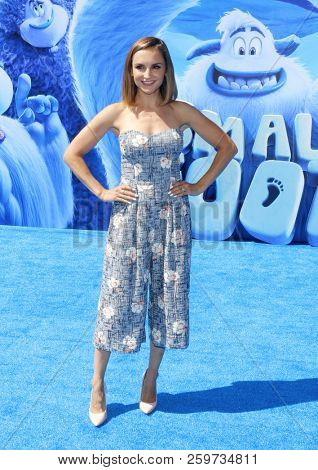 Rachael Leigh Cook at the Los Angeles premiere of 'Smallfoot' held at the Regency Village Theatre in Westwood, USA on September 22, 2018.