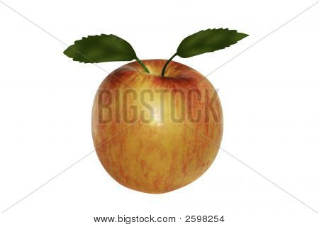 Motley Red Apple