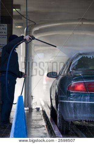 Going Through The Car Wash