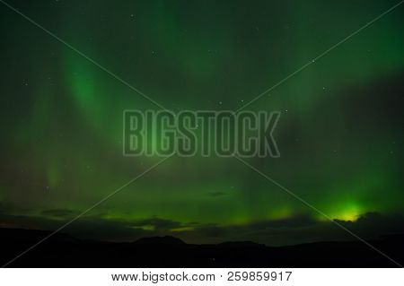 Best Place See Aurora Borealis. Nature Miracles. Aurora Dark Sky. Amazing Nature Phenomena. When Is