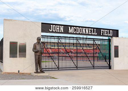John Mcdonnell Field At University Of Arkansas