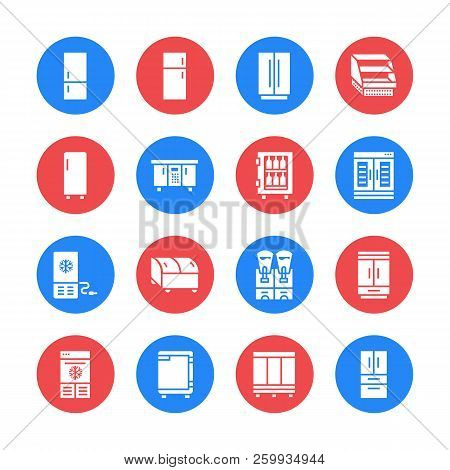 Refrigerators Flat Vector & Photo (Free Trial) | Bigstock