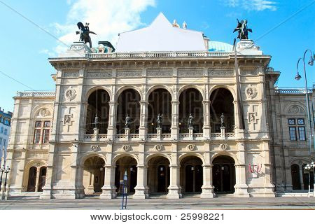 Vienna's State Opera House , Vienna, Austria