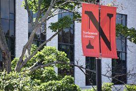 Boston, Ma - Jun 16: Northeastern University In Boston, Massachusetts, As Seen On Jun 16, 2018. It I