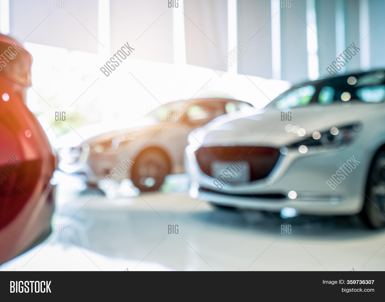 Blurred Front View Image Photo Free Trial Bigstock