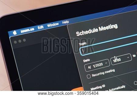 Schedule Meeting In Zoom App