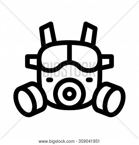 Safety Vest Icon Vector. Safety Vest Sign. Isolated Contour Symbol Illustration