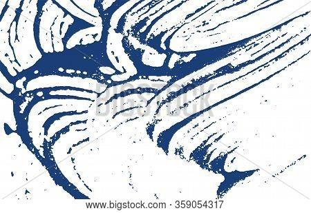 Grunge Texture. Distress Indigo Rough Trace. Delightful Background. Noise Dirty Grunge Texture. Amaz