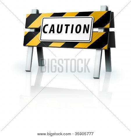 Caution Barrier