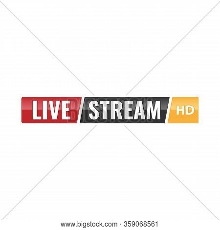 Live Hd Logo Video Streaming Logo