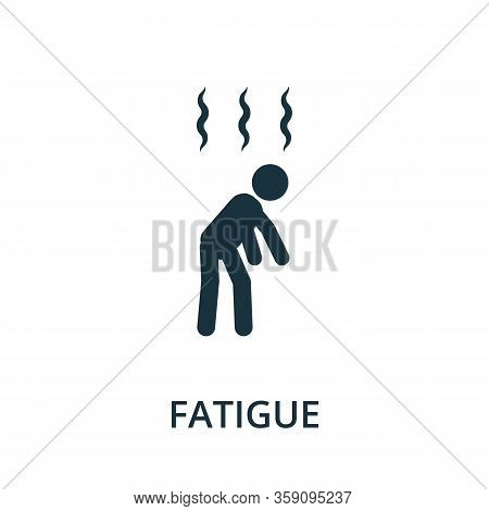 Fatigue Icon. Simple Illustration From Coronavirus Collection. Creative Fatigue Icon For Web Design,