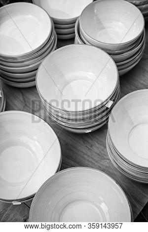Handmade Earthenware Plates