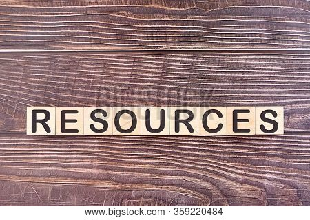 Resources Word Made With Wood Building Blocks