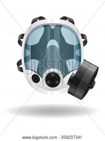 Respirator Breathing Mask For Protection Against Diseases And Infections Transmitted By Airborne Dro
