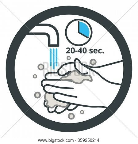 Wash your hands with soap and water frequently from 20 to 40 sec as effective protective measure against COVID-19