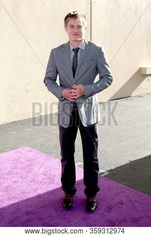 LOS ANGELES - MAY 19:  Lucas Grabeel at the Disney Media Networks International Upfronts at the Walt Disney Studios on May 19, 2012 in Burbank, CA