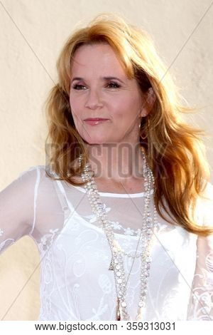 LOS ANGELES - MAY 19:  Lea Thompson at the Disney Media Networks International Upfronts at the Walt Disney Studios on May 19, 2012 in Burbank, CA