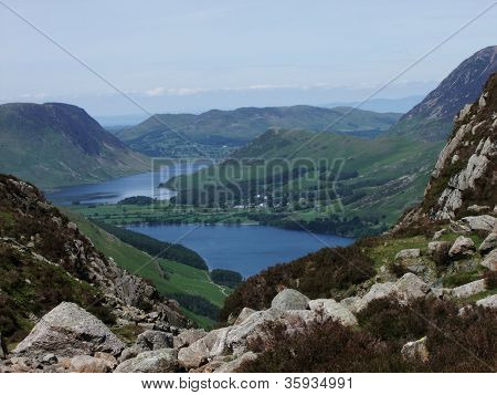 A View From Haystacks Fell
