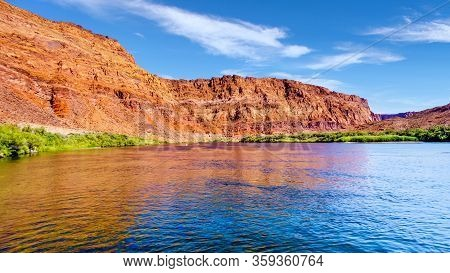 The Colorado River At Paria Beach Near Lees Ferry In Marble Canyon, Arizona, United States