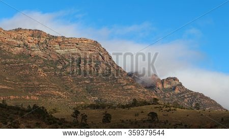 Rugged Escarpment Wilpena Pound Flinders Rangers South Australia