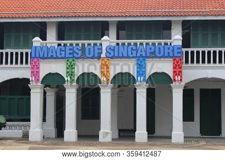 Sentosa Island, Sg - Oct. 19: Images Of Singapore Facade On October 19, 2015 In Sentosa, Singapore.